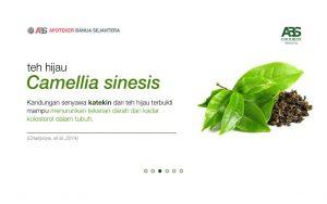 harga teh herbal Cholbest