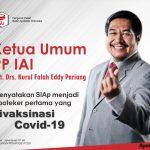 Ketua Umum PP IAI Nurul Falah Eddy Pariang